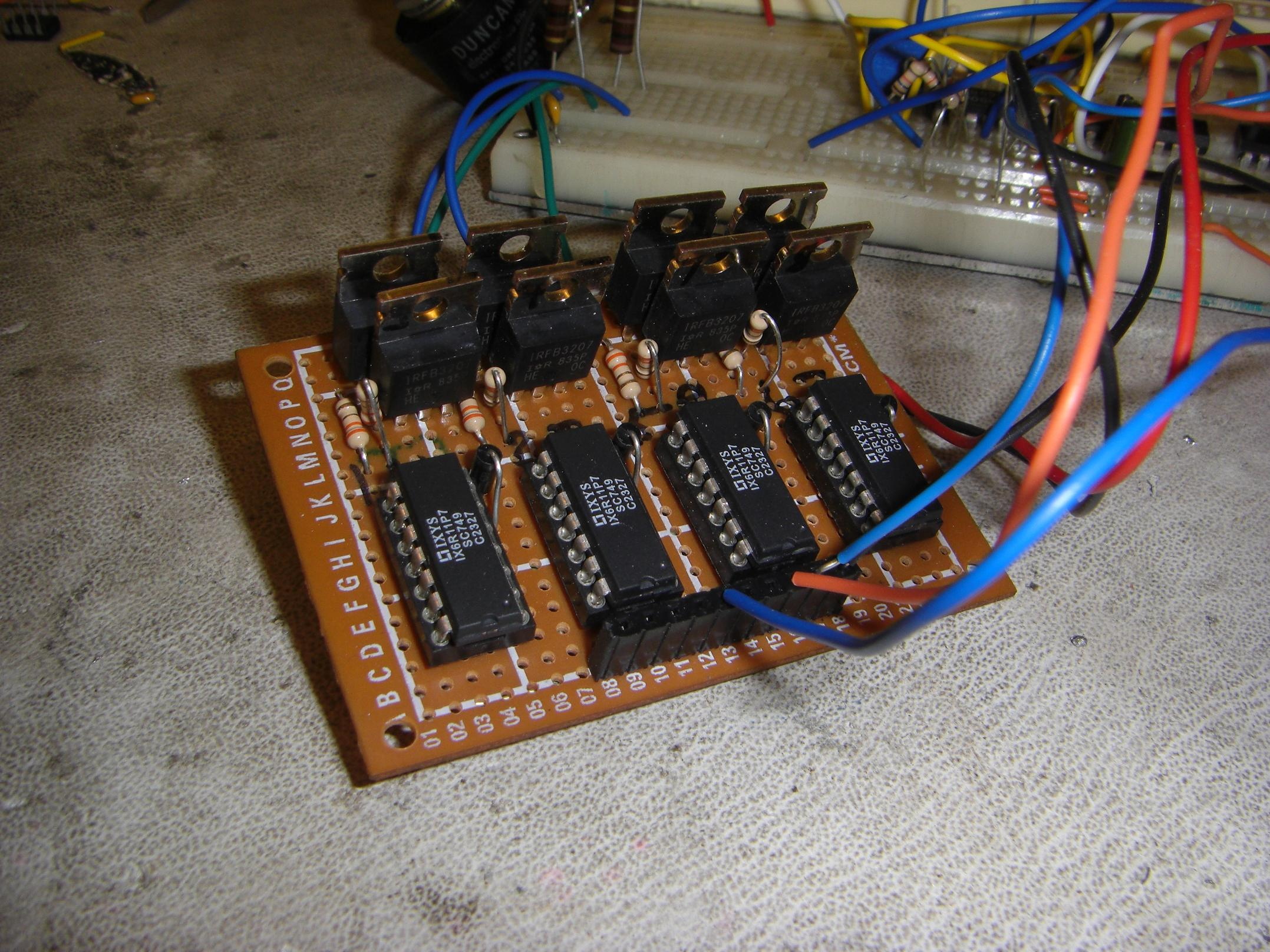 Gate Driving Your Way To Victory Equals Zero H Bridge Circuit Diagram Dc Motor Custom Bridges
